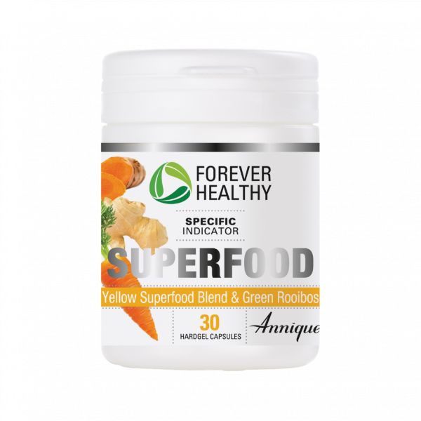 Forever Healthy SuperFoods Yellow 30 Capsules